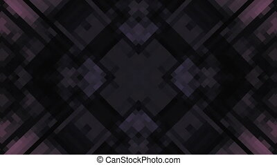 Dark Geometric Abstract Loop