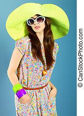 moda, cappello