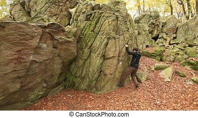 Boulder 4_1 - Boulder in the German Woods
