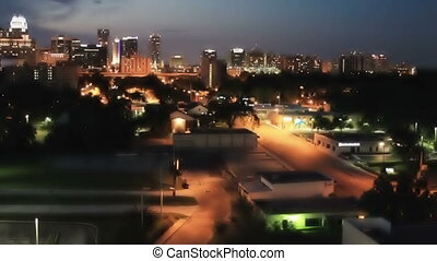 Orlando Florida Skyline Time Lapse - Orlando Florida City...