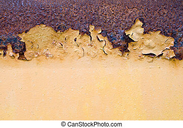 Corroded surface.