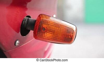 moto turn signal