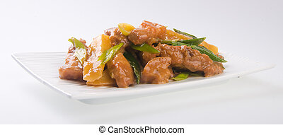 pork chinese cuisine asia food