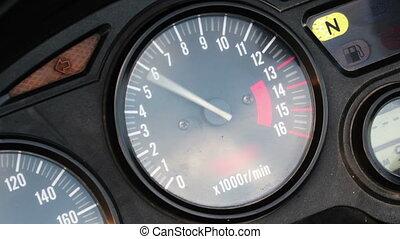 tachometer - moto tachometer