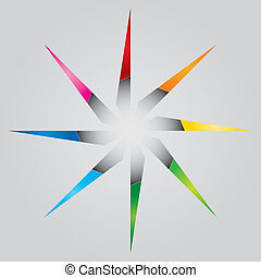 Color star template