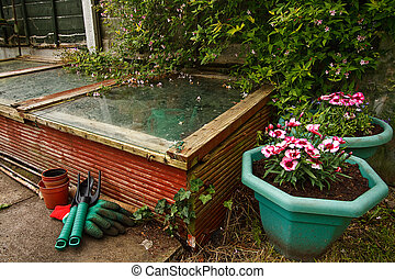 Gardeners cold frame