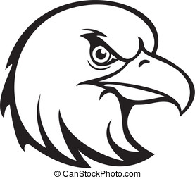 This is an Eagle Head Vector