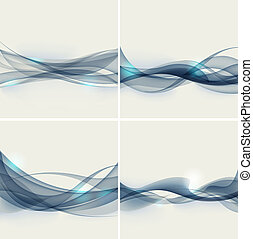 abstract wave vector illustration