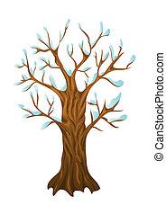 winter tree,
