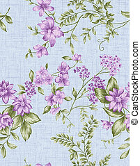 seamless pattern 727 - Seamless floral background. For easy...