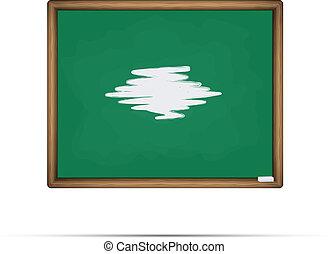 School board vector illustration