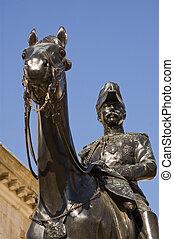 wolseley, granada, estátua, visconde