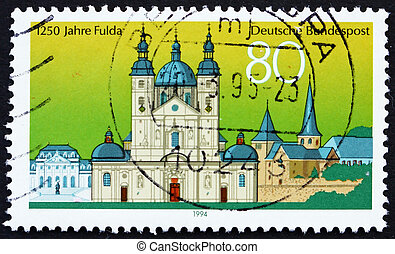 Postage stamp Germany 1994 View of Fulda, Germany - GERMANY...