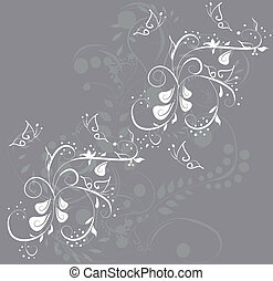 Abstract vector spring illustration for design.