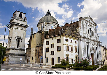San Giorgio Church in Verona, Italy