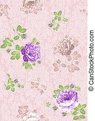 seamless pattern - textile paisley seamless background...
