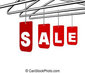 Sale message conceptual design