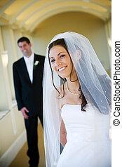 Wedding husband and wife