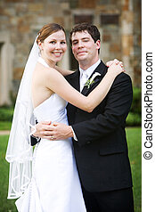 Wedding - Bride and Groom - bride and groom - wedding couple