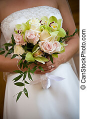 Bouquet, Bryllup, blomst, Ordning