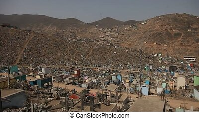 Big Cemetery, Peru - Biggest Cemetery in Southamerica and...