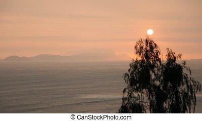 Ocean With Sun