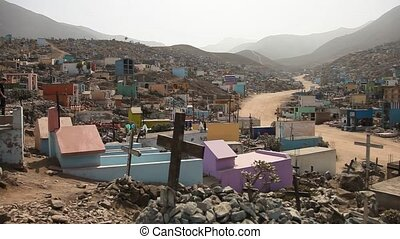 Cemetery, South America - Biggest Cemetery in Southamerica...