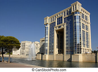 Antigone, Hotel de Region, Montpellier