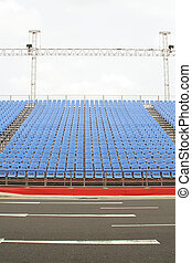 Parade Seats with no crowd yet - Parade seats with no...