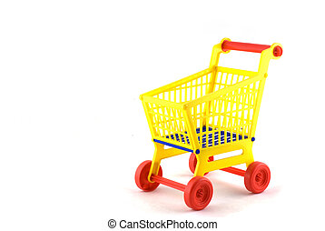 shopping car for use in the supermarket