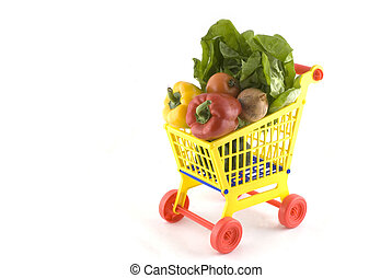 daily food - Buying daily food in the supermarket