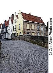 Bruges city street