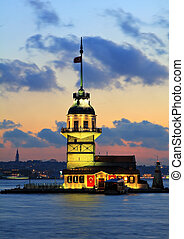 Maidens Tower - The Maidens Tower in Istanbul