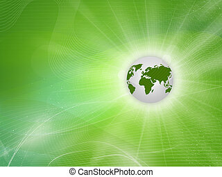 Gree background Eartha, green Earth - Abstract background...