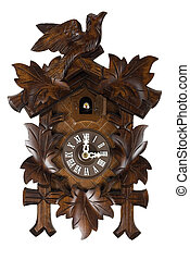 German Cuckoo Clock - Here is a picture of a wooden German...