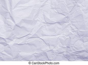 blue wrinkled paper