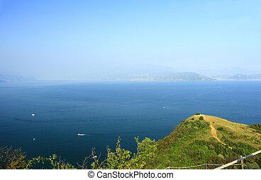 Lake Garda - View from the Manerba Rock on Lake Garda, Italy