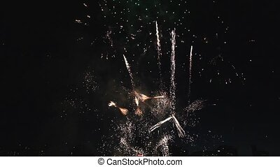 Holiday Fireworks Celebration - Fourth of July Holiday...