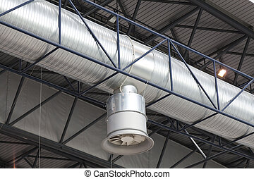 Air ducts - Air duct for extraction and air conditioning