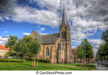 Christus Kirche Church, Fulda, Hessen, Germany