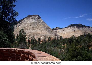 Checker Board Mesa Zion National Park