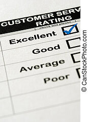Excellent Customer Service Rating