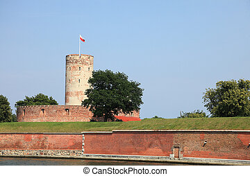 Sławny, Wisloujscie, forteca, Gdańsk, Polska