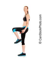 Zumba fitness woman