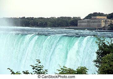 Niagara Falls - A view of the Niagara Falls, Canadian side.