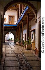 Alleyway Patzcuaro Mexico