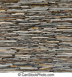 slate stone wall surface - pattern of decorative slate stone...