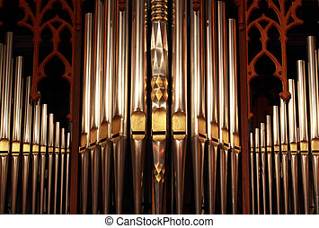 Organ Pipes - Beautifully ornate prospect pipes from a...