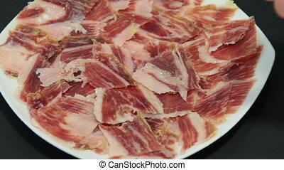 jabugo ham plate