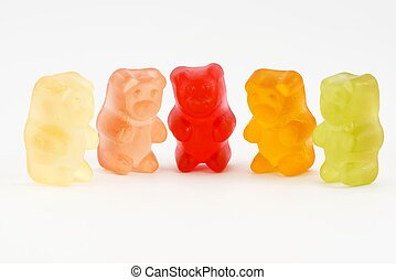 gummy bears - candy
